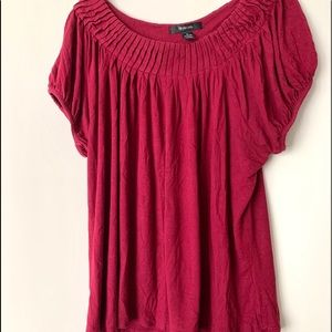 Style & Co. Short Sleeve Knit Top - Size XL